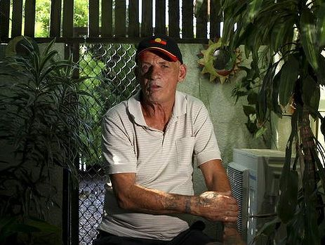 David Lawton, 60, at his home in Woodridge, south of Brisbane, wonders what has happened to his younger brother Robert