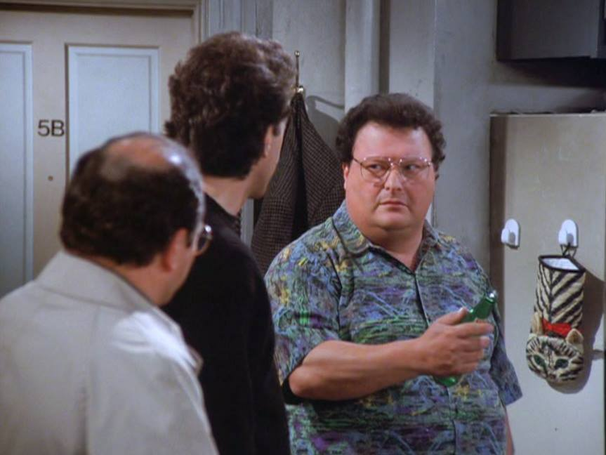 Wayne Knight as Newman, in Seinfeld.