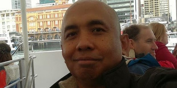 Missing Malaysia Airlines pilot Zaharie Ahmad Shah is pictured on a visit to Auckland in 2012.