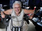 Lorna Graham, 87, of Fernleigh, checking out the mobility scooters at the Lismore Senior expo at the showground in Lismore. Photo : Mireille Merlet-Shaw/The Northern Star
