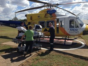 Teen bitten while hiking airlifted from Chincilla