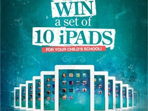 Full page of iPad competition coupons in tomorrow's Star
