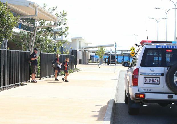 Police are doing operation Jump Street to target bad behaviour around local schools. Photo: Nicola Brander / Sunshine Coast Daily