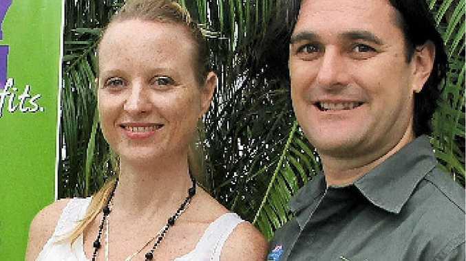EQUAL OPPORTUNITY: Local employers Melinda Thomas and Mal Barrett.