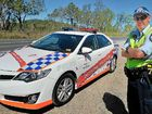 Senior Constable Leigh Rickard with the Official Police Pace Car.