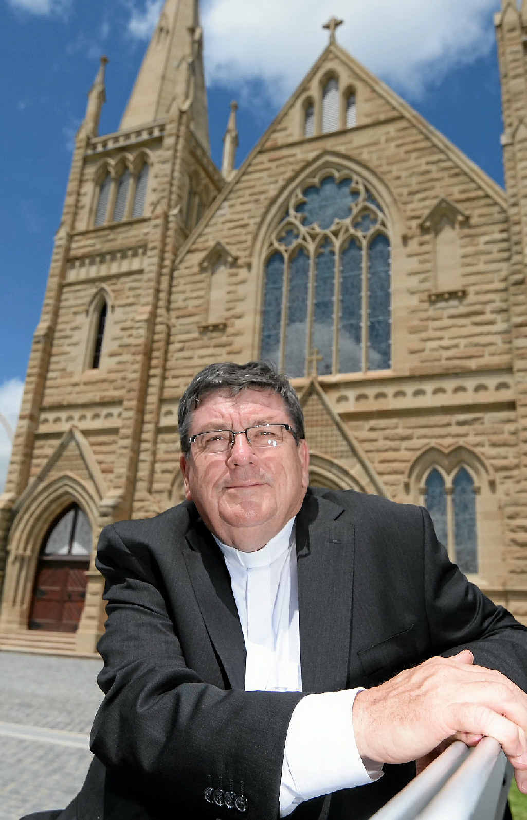 Michael McCarthy will shortly be ordained as the new Bishop of Rockhampton, taking in the Gladstone parish.