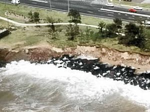 Sea wall may shrink due to no State Government funding