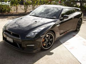 Nissan GTR is beautiful in black - and with grunt to spare