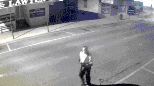 Police want to speak to this man in relation to two break and enters.
