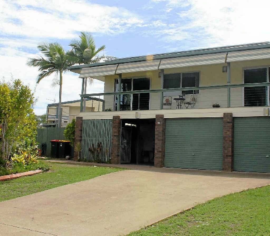SEA BREEZE: 11 Blackwell St, Tannum Sands is for sale.