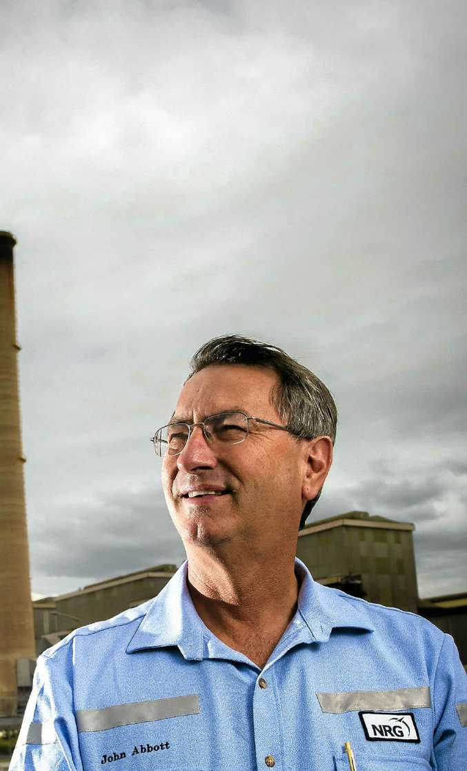 Gladstone Power Station manager John Abbott.