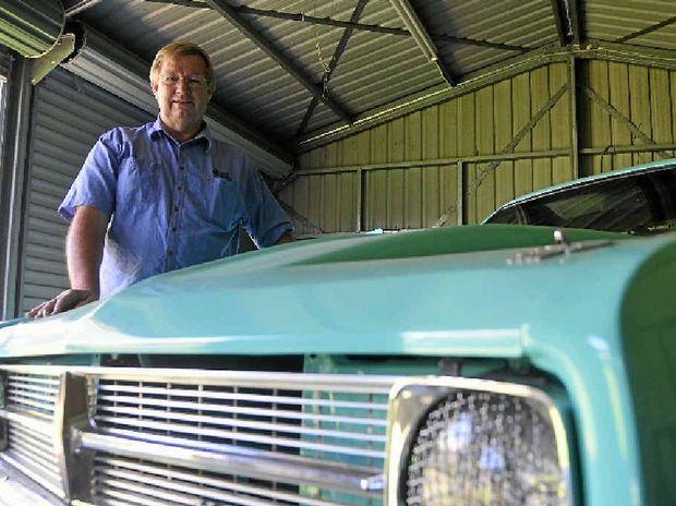 Earl McCallum has been racing in Benaraby for 14 years.