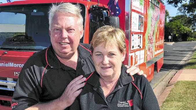 CHILD SAFETY: Bruce and Denise Morcombe on the road promoting child safety and awareness.