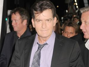 Charlie Sheen's father praises his 'courage'