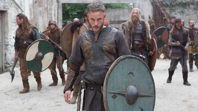 Aussie Travis Fimmel stars as legendary Viking Ragnar Lodbrok in Vikings on SBS.