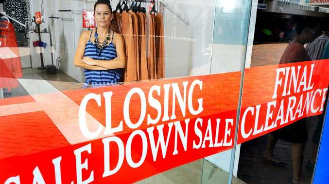 SAD GOODBYE: Limelight Fashions owner Claire Trevorrow in the store.