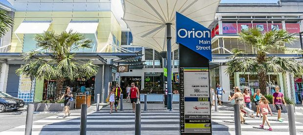 BIGGEST IN REGION: The completion of stage two of the Orion Shopping Centre will make it the ninth largest centre in Queensland.