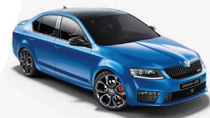 BRING IT ON: A drive in the Skoda Octavia RS will have you grinning from ear to ear.