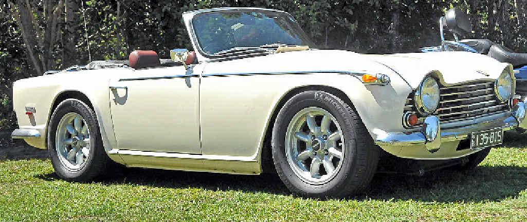 1968 Triumph TR5.