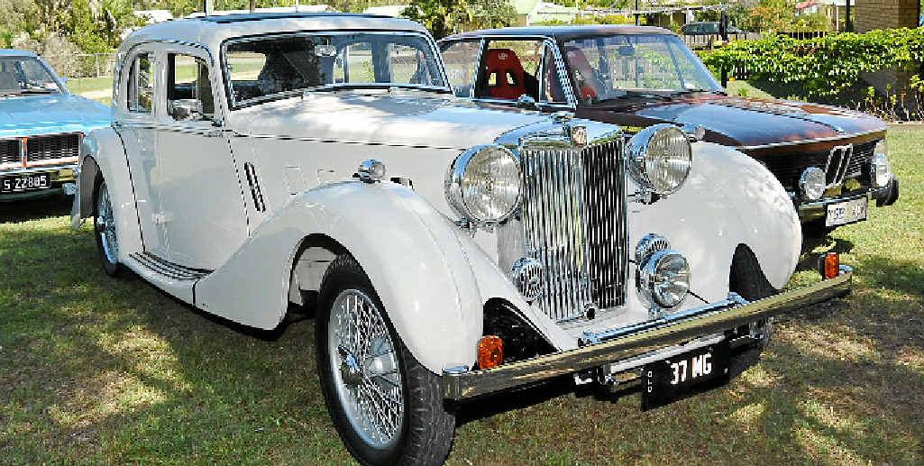 1937 MG.