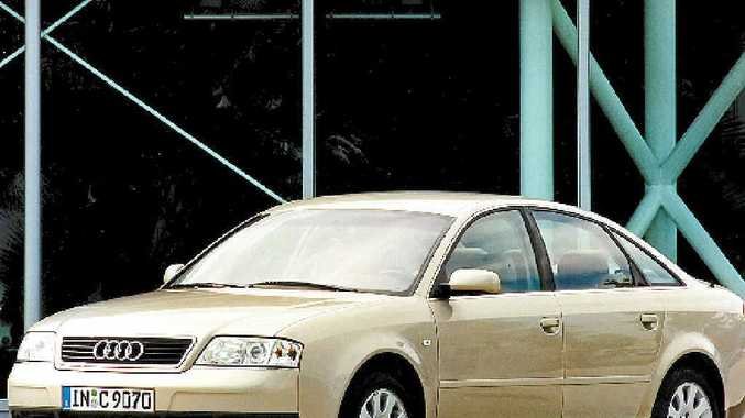 A 2004 A6. Audi is now highly regarded in Australia.
