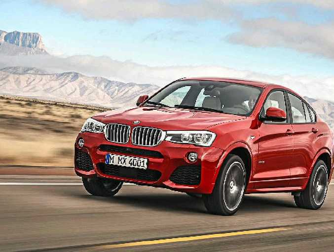 The new X4's styling cues have been adopted from the X5.