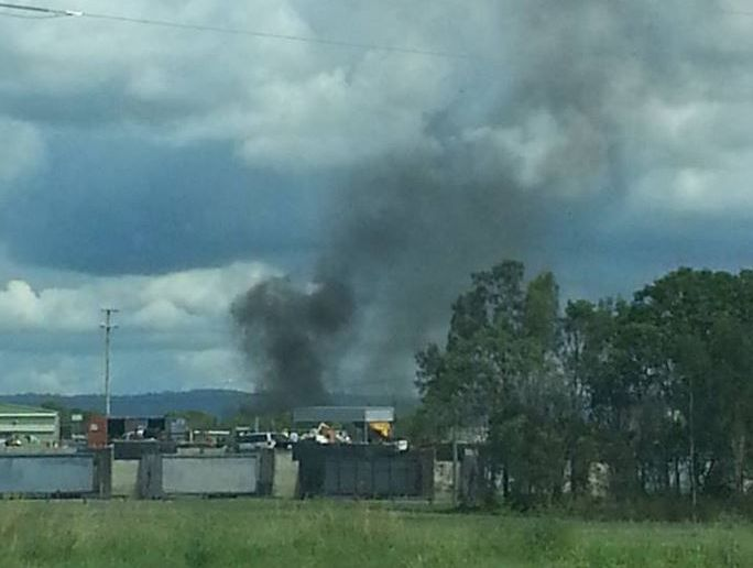 A skydiving plane crashed at Caboolture, killing all five on board.