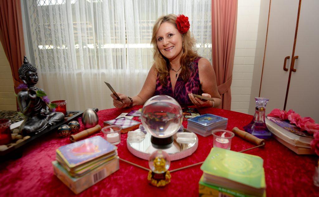 International psychic Kerilyn in is rockhampton. Photo Allan Reinikka / The Morning Bulletin