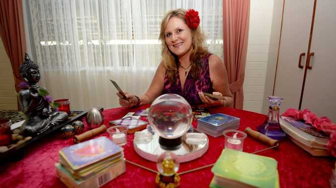 International psychic Kerilyn in is rockhampton. Photo Allan Reinikka / The Morning Bulletin