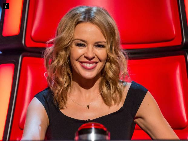 Kylie Minogue has said she struggles to commit.