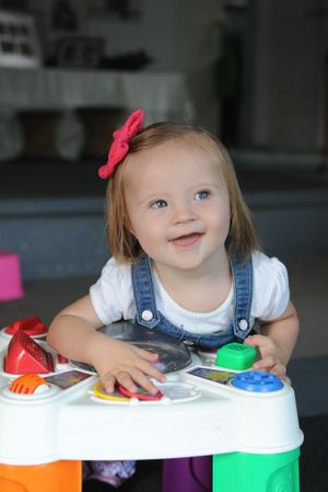 Josee Kelly at the age of 14 months.