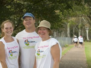 The Long Road charity walk