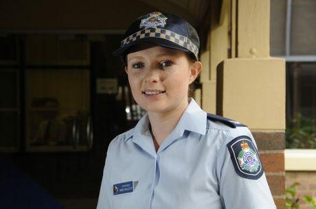 Constable Heidi Chilcott.