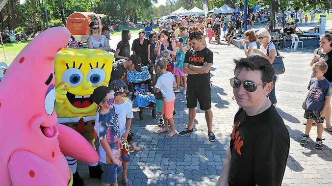 SpongeBob SquarePants was the big hit at Celebrate the Sea.