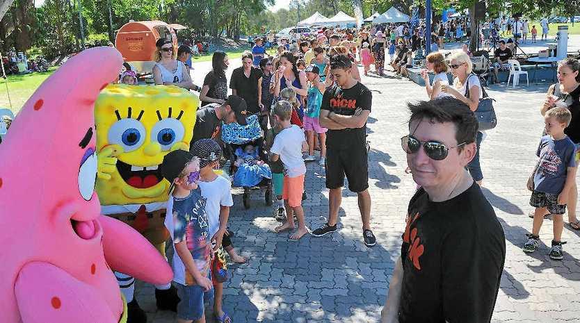 SpongeBob SquarePants was the big hit at Celebrate the Sea.