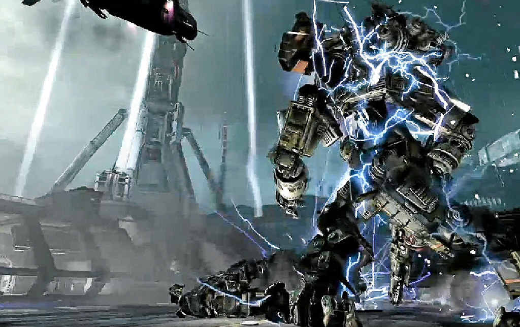 KILLER GAME: Titanfall, described as a mix of Call of Duty and Halo, is Microsoft's power player.