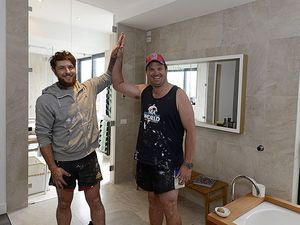 Brad and Dale's bathtub surprise sinks Steve and Chantelle