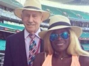Marcia Hines in major league blunder over 'Tony Greig' pic