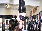You don't become top pole dance instructor by hanging around