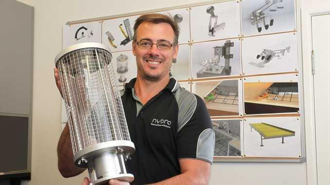 Denver Vidler from Nybro Innovative Solutions at Kunda Park.