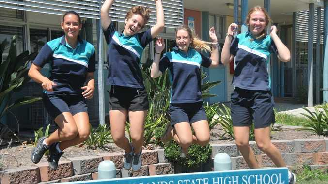THAT AUSSIE FEELING: Annett Uhrig, Julia Keuthen, Julia Gartenschlaeger and Nora Hahn have enjoyed experiencing the best of Australian culture and hospitality.