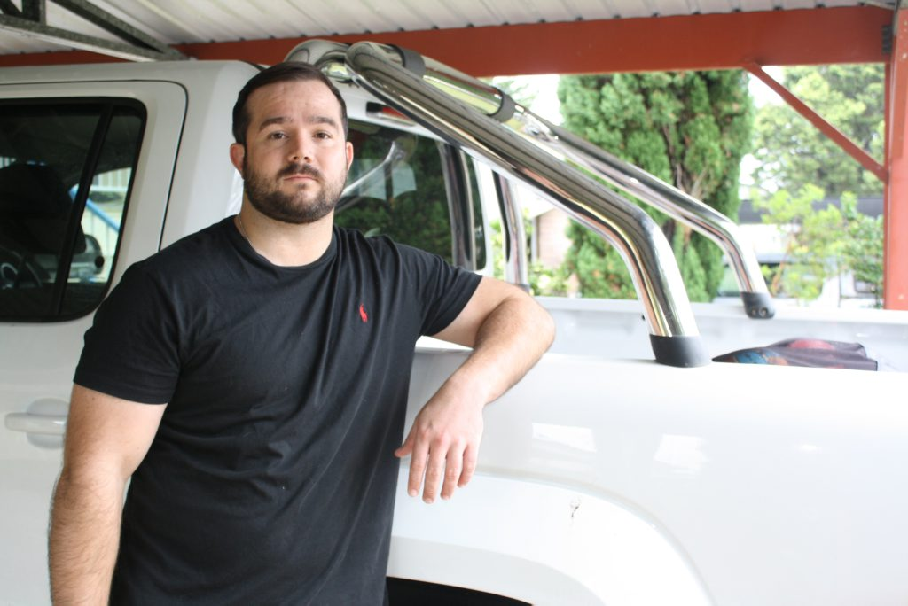 Rockhampton's Jamie Simpson lost his licence for a month because he didn't vote in 2012. Photo Austin King / The Morning Bulletin