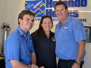Nic joins family mission at Hotondo Homes Gympie
