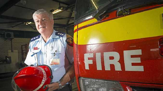Wayne Larkin, Area Commander of Gladstone Fire and Rescue Urban Command was deployed to the Hazelwood Coal Fire last week to assist with the operation.