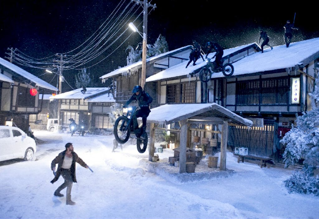 Jack Field went toe to toe with Wolverine as a motorcycle-riding ninja assassin in the 2013 X-men movie The Wolverine.