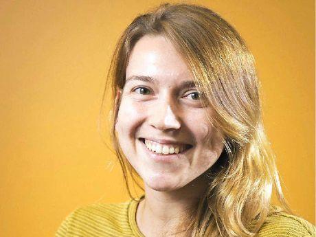 WEDDING BELLS: Polish psychologist Malwina Bakalarek loves Australia.