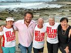 SIGNED ON: Ironwoman Jordan Mercer, Mark Darin from Mix FM, rugby league great Alfie Langer, former Olympian Raelene Boyle and Mix FM's Carolyn Hutchinson promote Run Sunshine Coast.