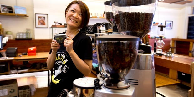 Hanna Teramoto from Parnell's Espresso Workshop has been crowned the best barista in NZ.