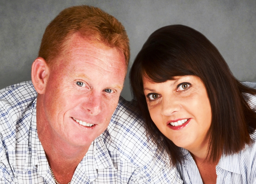 TRADES WINNER: Southern Cross Commercial Cleaning's Dale and Tammy Ryan.