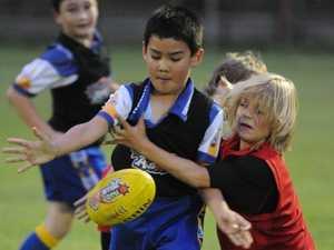Bundaberg's junior aussie rules stars are itching to start